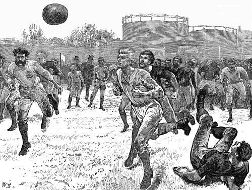 England_Vs_Scotland_Rugby_Football_Match_1