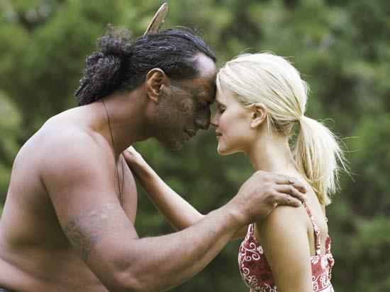 cumprimento do povo maori